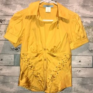 Marciano corset blouse size small